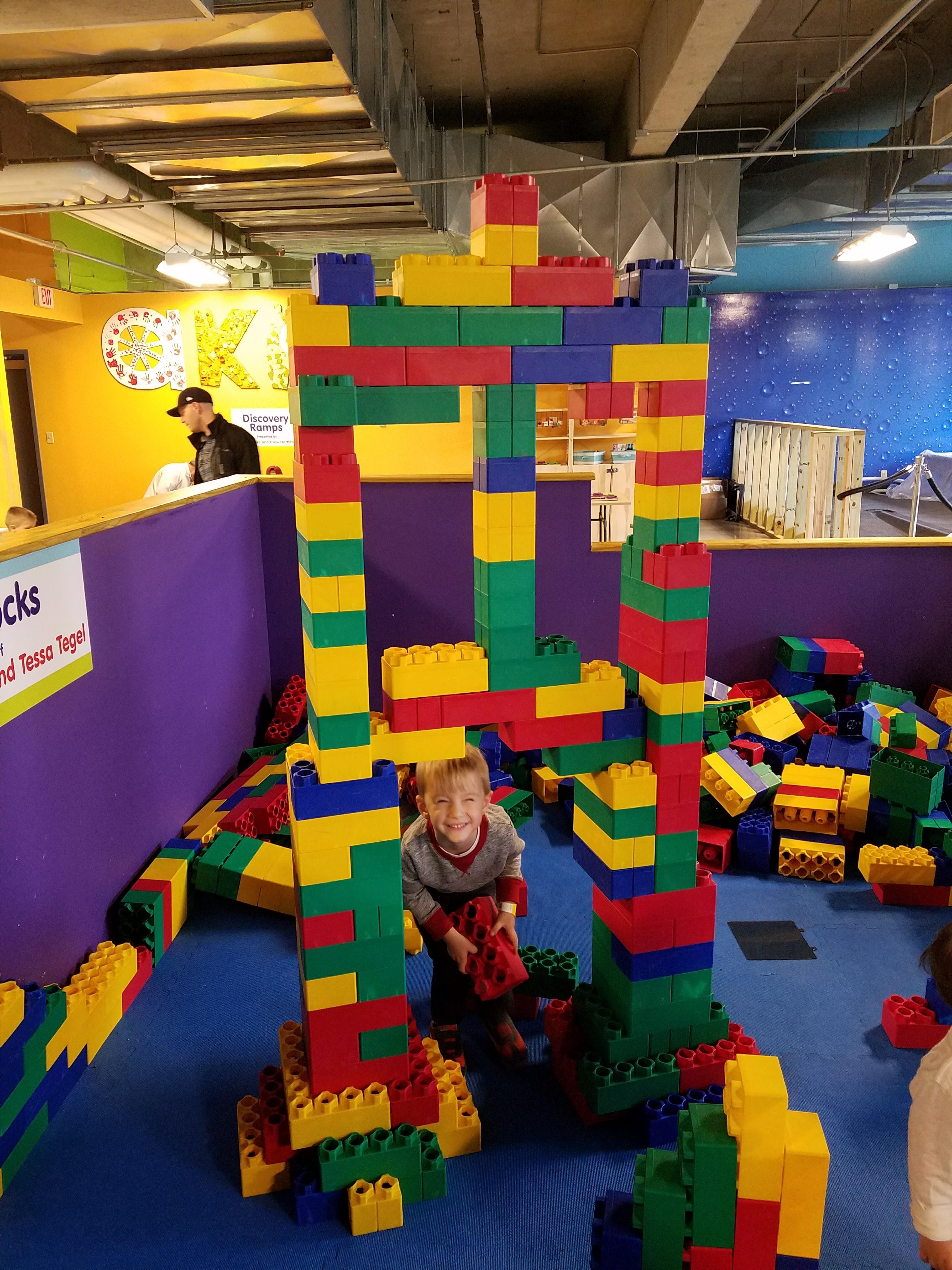 Big Blocks at Akron Children's Museum