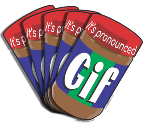 It's Pronounced GIF, Soft G, Sticker