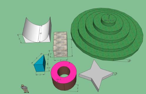 SketchUp Shapes