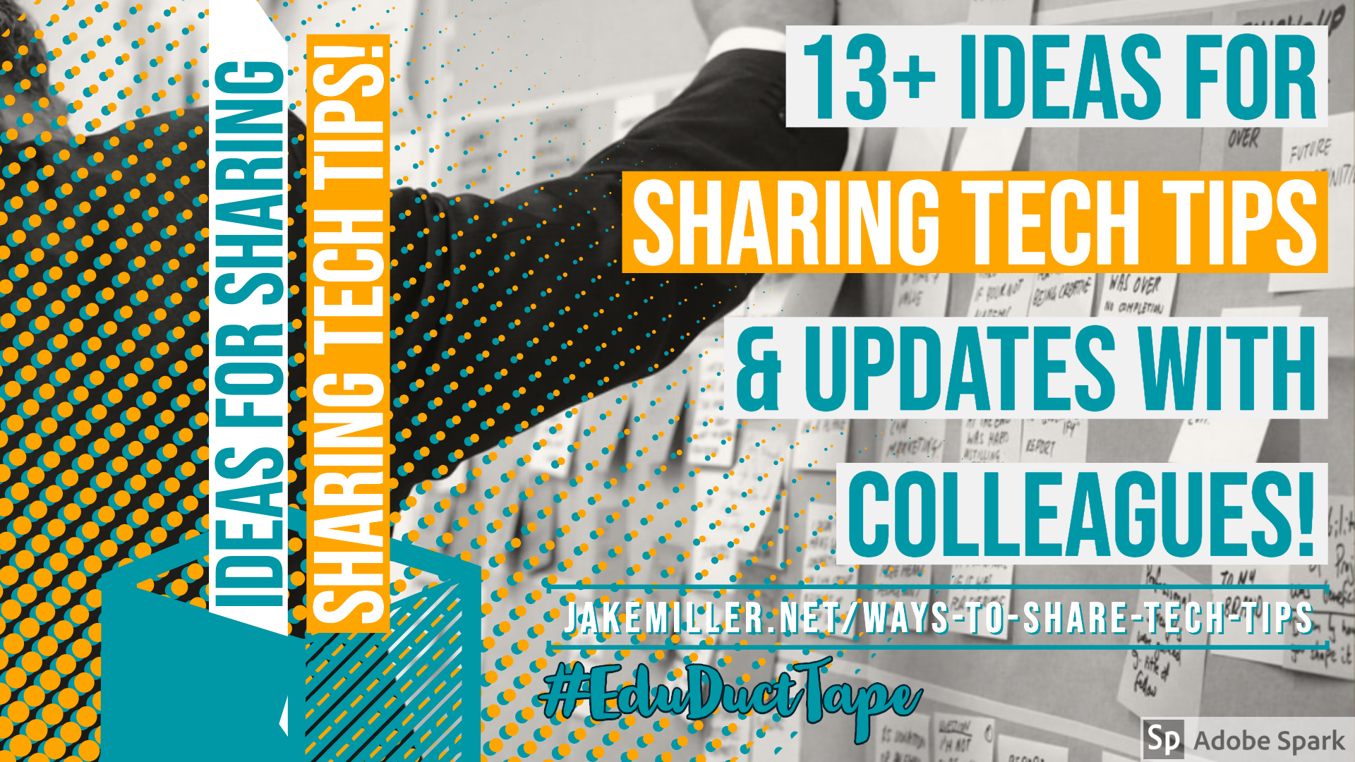 Ways to Share Tech Tips Graphic